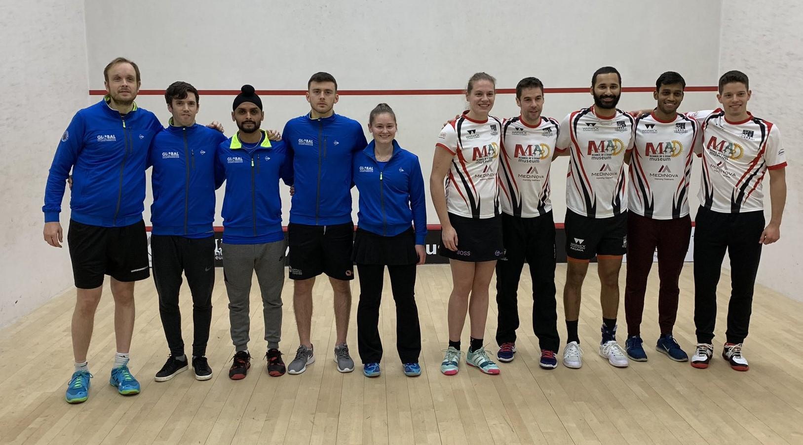Round Four Club Reports   Premier Squash League